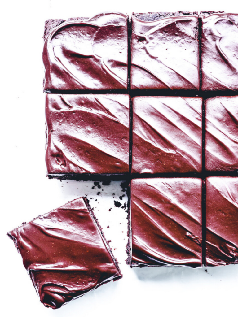 Dark Chocolate & Beetroot Brownies