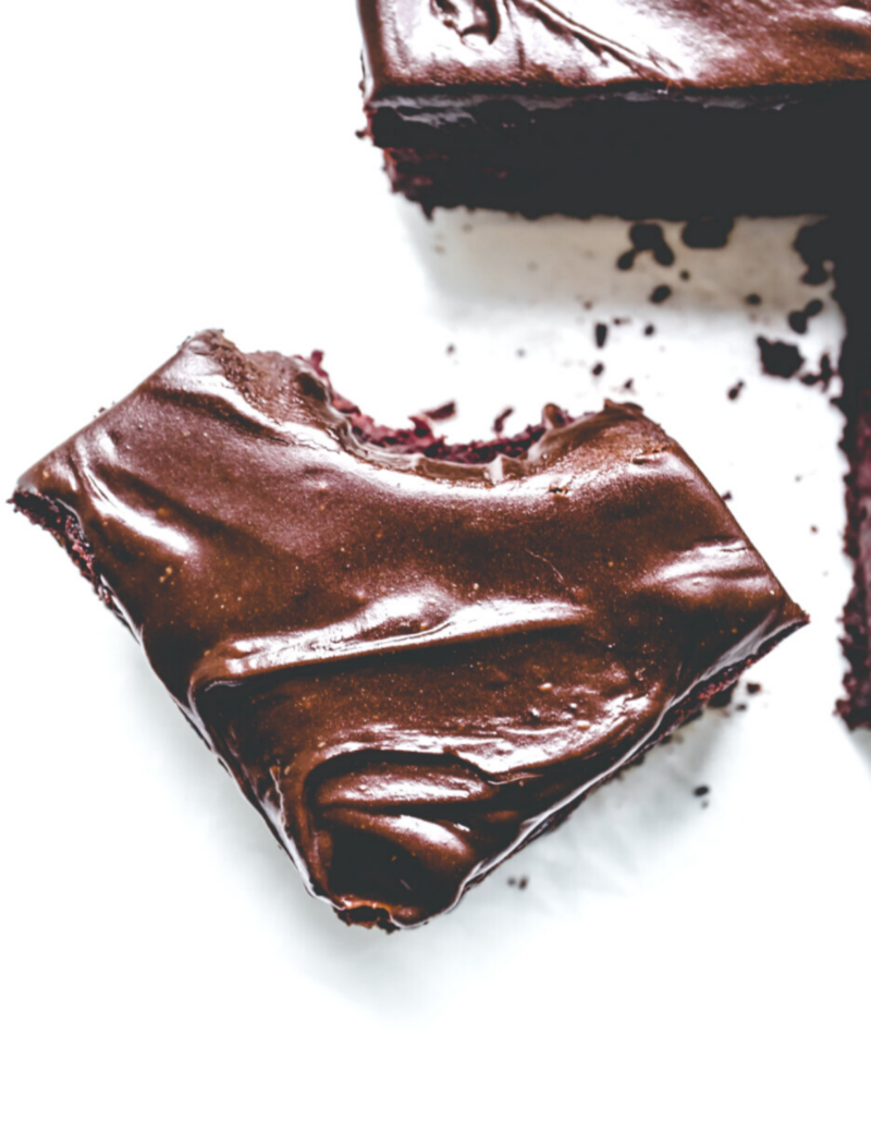 Dark Chocolate & Beetroot Brownies