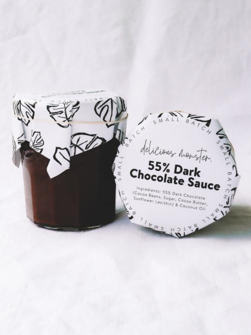 55% Dark Chocolate Sauce