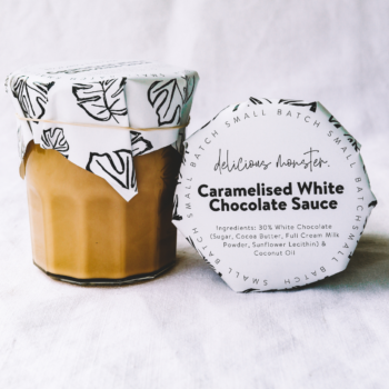 Caramelised White Chocolate Sauce