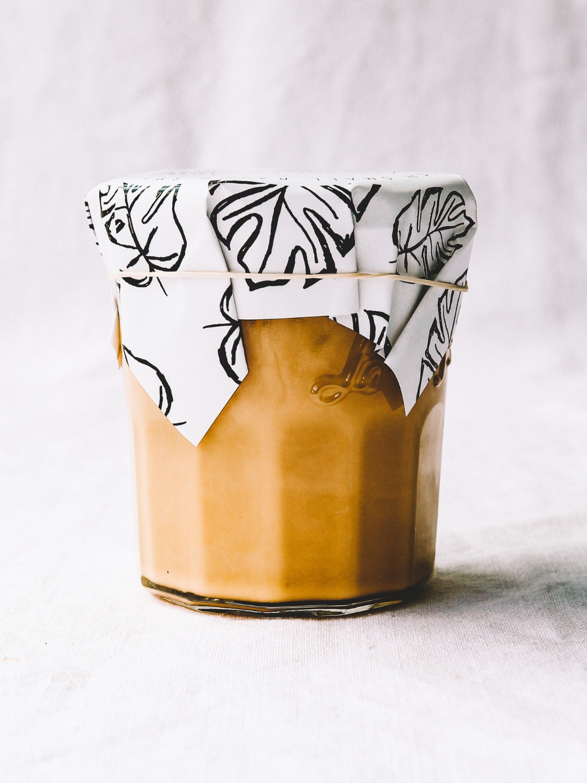Caramelised White Chocolate Sauce