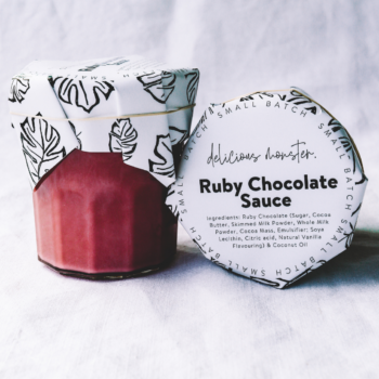 Ruby Chocolate Sauce