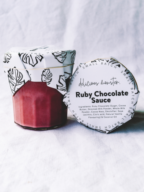 Ruby Chocolate Sauce