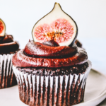 Small Batch Chocolate Fudge & Fig Cupcakes