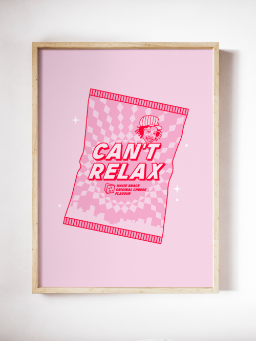 Can't Relax by Little Latsky