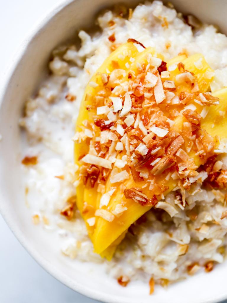 Brown Basmati & Coconut Rice Pudding