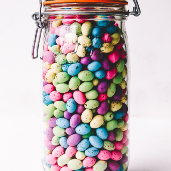 1.5 Speckled Eggs Jar