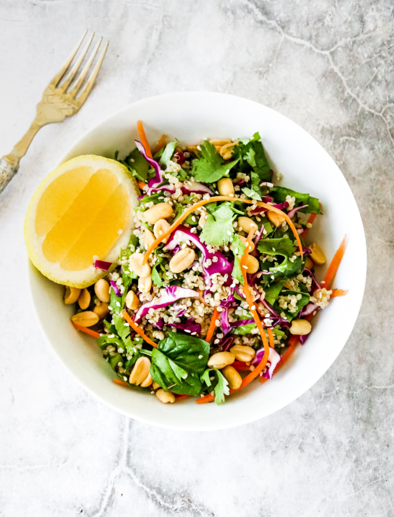 Peanut Quinoa Salad