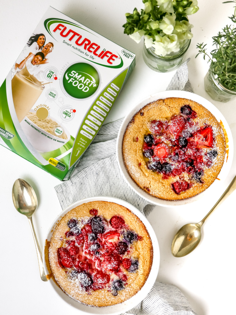 Breakfast Berry Clafoutis with FutureLife®