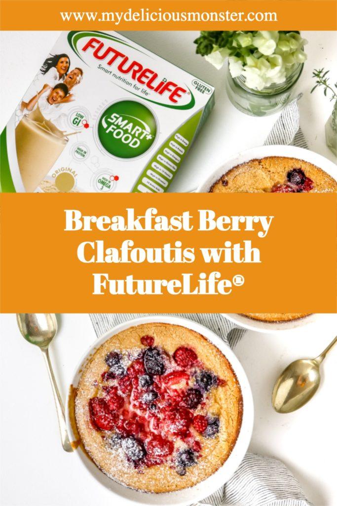 Breakfast Berry Clafoutis